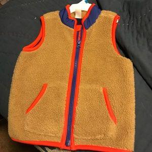 Adorable fuzzy vest